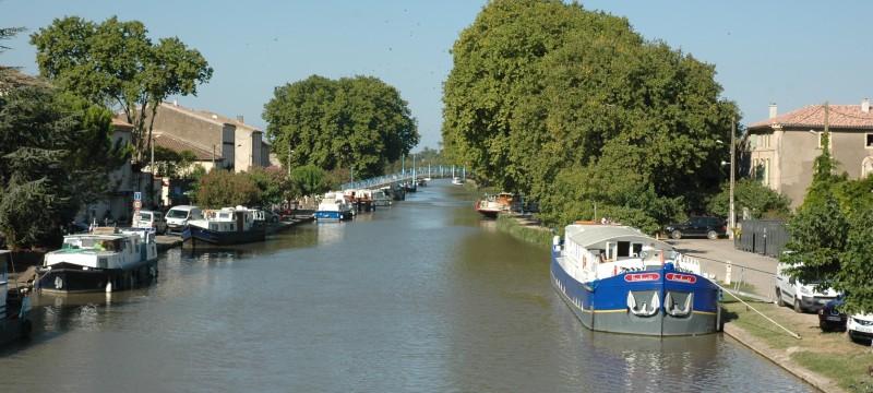 Homps Canal du Midi