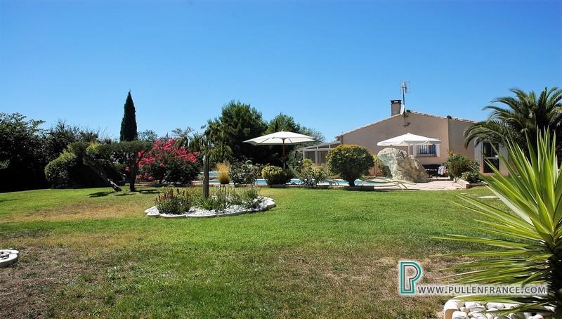 Villa For Sale With Large Garden Pool Gite In La Liviniere